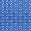 Векторный клипарт: Бесшовные шаблон в голубых тонах