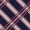 Nahtlose diagonale Muster in blau, grau und rot