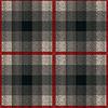 Векторный клипарт: Бесшовные, как трикотажной ткани в красный и серый