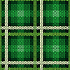 Векторный клипарт: Бесшовные, как трикотажной ткани в зеленый и