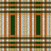 Vektor Cliparts: Nahtlos gestrickt Muster in braun, grün und weiß