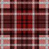 Vektor Cliparts: Nahtlos gestrickt Muster in roten und braunen Farbtönen