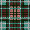 Vektor Cliparts: Nahtlos gestrickt Muster in rot, grün, türkis