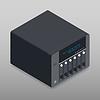 Netzwerkspeicher isometrische detaillierte Geräte