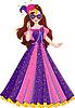 Vektor Cliparts: Prinzessin Masquerade