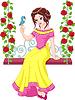 Векторный клипарт: Принцесса