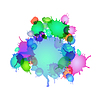 Stylized ink droplets | 向量插图