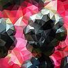 Abstrakcyjne tło dla projektu z wielokątów | Stock Vector Graphics