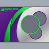 Tło koncepcji do poziomego broszury | Stock Vector Graphics