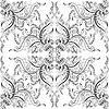 Tło z ręcznie rysunek dekoracyjne ozdoby | Stock Vector Graphics