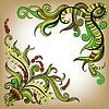 Векторный клипарт: Эскизные болваны декоративный цвет контура