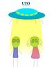 Векторный клипарт: НЛО