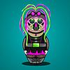 Russische Puppe Cyber Goth