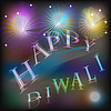 Diwali Holiday background graphic design with | Stock Vector Graphics