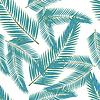 Векторный клипарт: Тропические листья. Цветочный дизайн фона