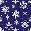 nahtlose Winter Muster der weißen durchbrochene Schneeflocke