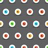 Eye Halloween pattern | Stock Vector Graphics
