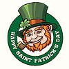 Saintt Patricks Day Badge | Stock Vektrografik