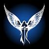Engel mit einem Schwert