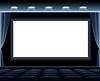 Векторный клипарт: Dark Кинозал