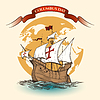 Vektor Cliparts: Glücklicher Columbus Day