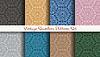 Vektor Cliparts: Jahrgang nahtlose Muster-Set