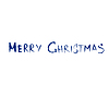 Векторный клипарт: Поздравление с Рождеством