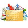 Business-Konzept mit Kreditkarte