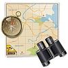 Векторный клипарт: Сафари на карте