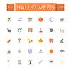 Wohnung Halloween Icons