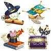 마법의 개념 아이콘 | Stock Vector Graphics