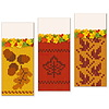 Autumn Knitted Banners Set  | Stock Vector Graphics