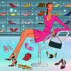 Векторный клипарт: обувь Holic