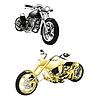 Motorrad, Chopper Objekte