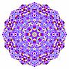 Abstract colorful circle backdrop. Mosaic round   Stock Vector Graphics