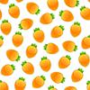 Векторный клипарт: Бесшовные с морковью