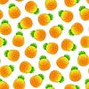 Векторный клипарт: Бесшовные с ананасы