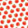 Векторный клипарт: Бесшовные узор с томатом