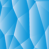 Blau weiß polygonal Hintergrund | Stock Vektrografik