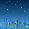 Stadt Stadtgestaltung. Nachtlandschaft