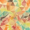 Abstract retro geometrischen Dreieck Hintergrund