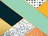 Streszczenie wzór sztuka. do projektowania mody | Stock Vector Graphics