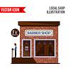Barber Shop-Symbol