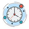 Zeit-Management-Konzept