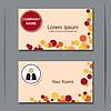 Векторный клипарт: Современный дизайн шаблона визитной карточкой