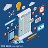Internet-Blogging, Web-Veröffentlichung, Journalismus