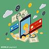 Mobile Payment, Online-Banking, Geldüberweisung