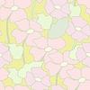 Векторный клипарт: цветочный узор. векторные иллюстрации