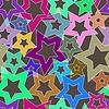 Векторный клипарт: Бесшовные геометрический рисунок. Векторная иллюстрация.