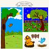 0815 8 Nest und Vogel